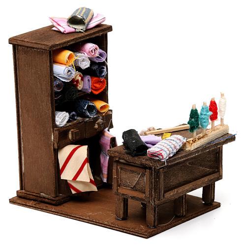 Table du couturier en miniature crèche Napolitaine 3