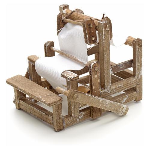 Métier à tisser en miniature crèche Napolit 2