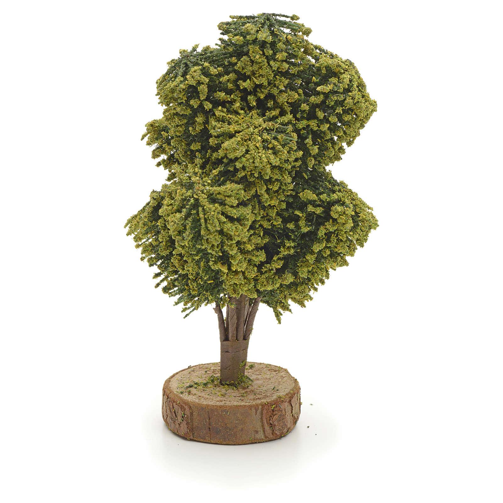 Albero con base 12 cm presepe 4
