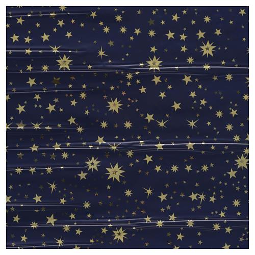 Rotolo cielo stellato oro 70x100 presepe 1