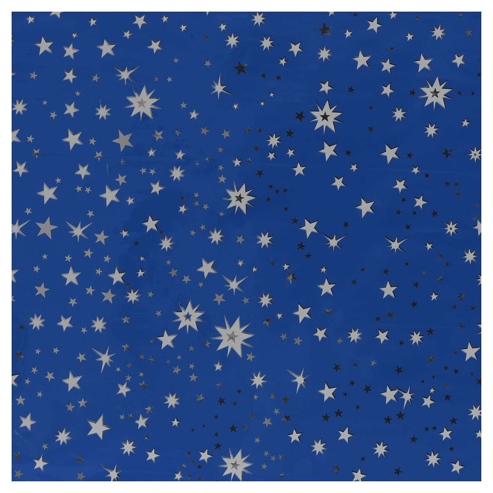 Rollo cielo estrellado plateado 70x100 pesebre 4