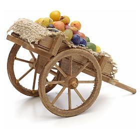 Carreta de frutas y verduras Pesebre Nápoles s3