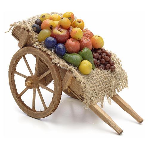 Carreta de frutas y verduras Pesebre Nápoles 1