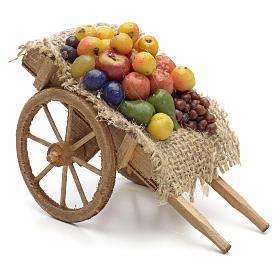 Carro con frutta e verdura Presepe Napoli s1