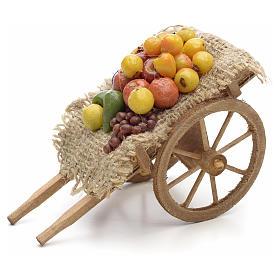 Carro con frutta e verdura Presepe Napoli s2