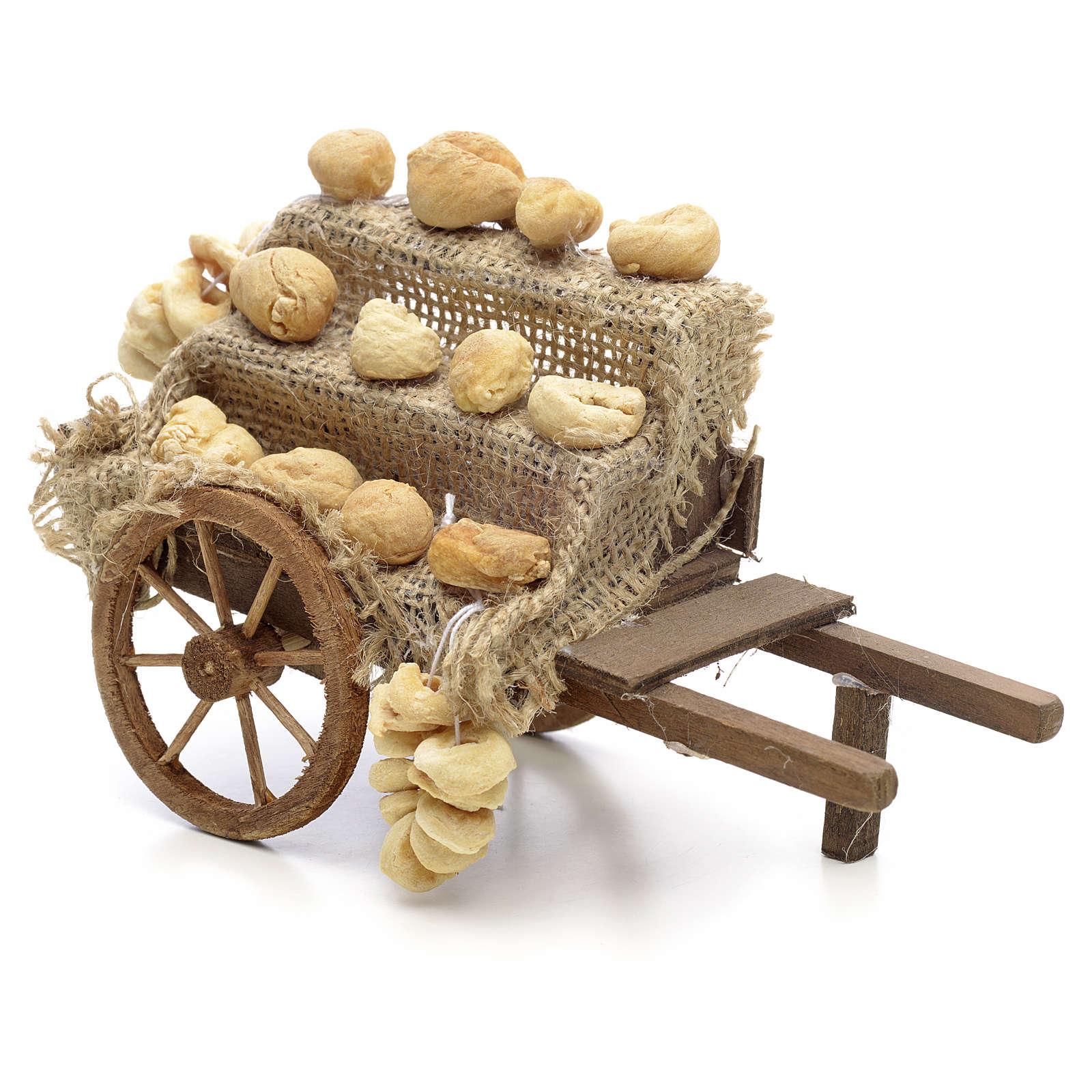 Carro del pane Presepe Napoli 4