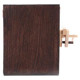 Banco del falegname presepe di Napoli 8,5x6,5x6 cm s4