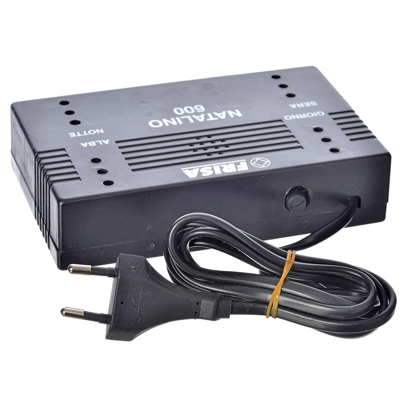 Natalino N600: controlador efeitos luz gradual dia e noite 4