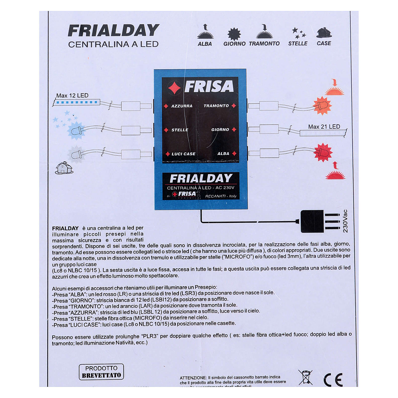Frialday (Frisalight): electric box 4
