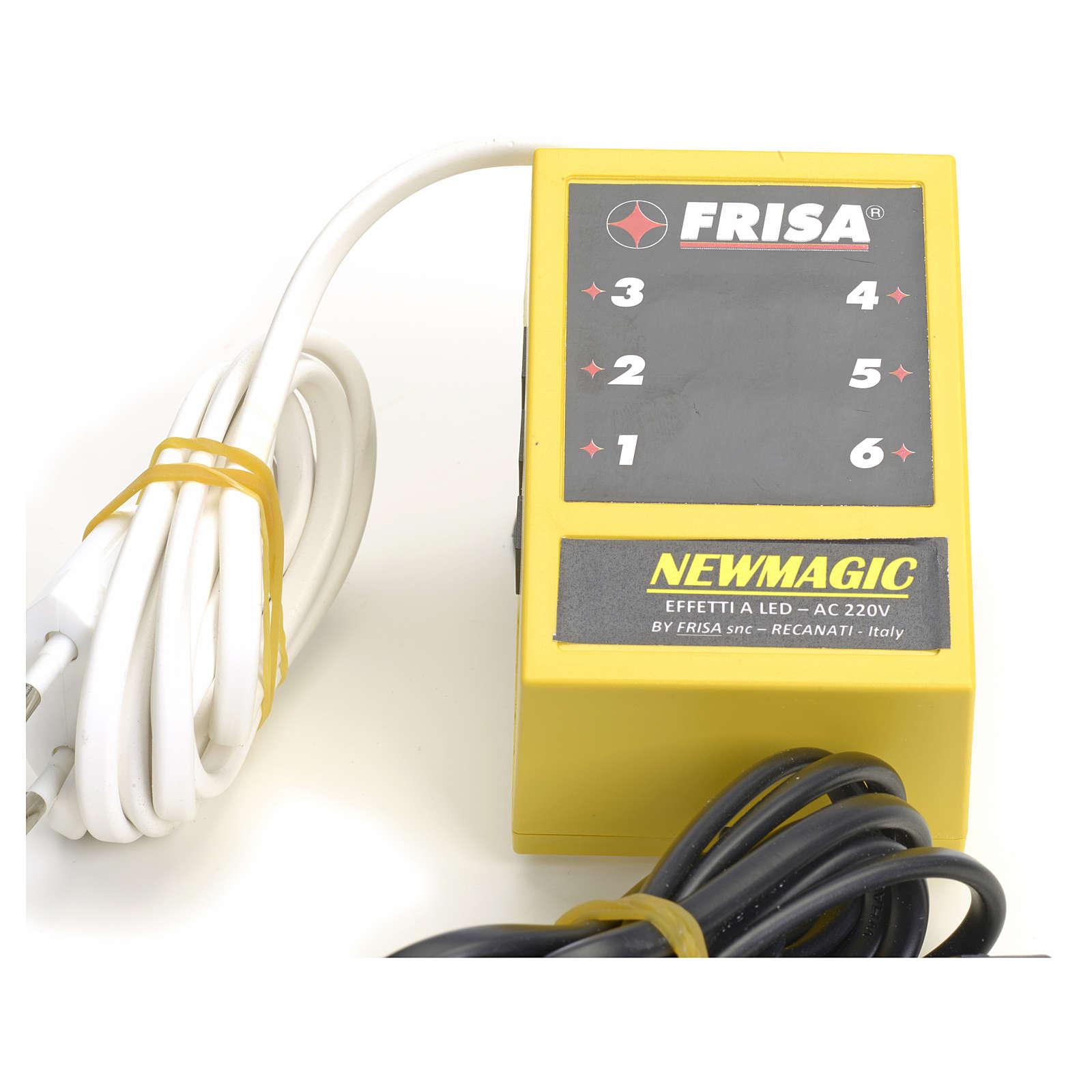 Newmagic (Frisalight): led effect synchronisation 4