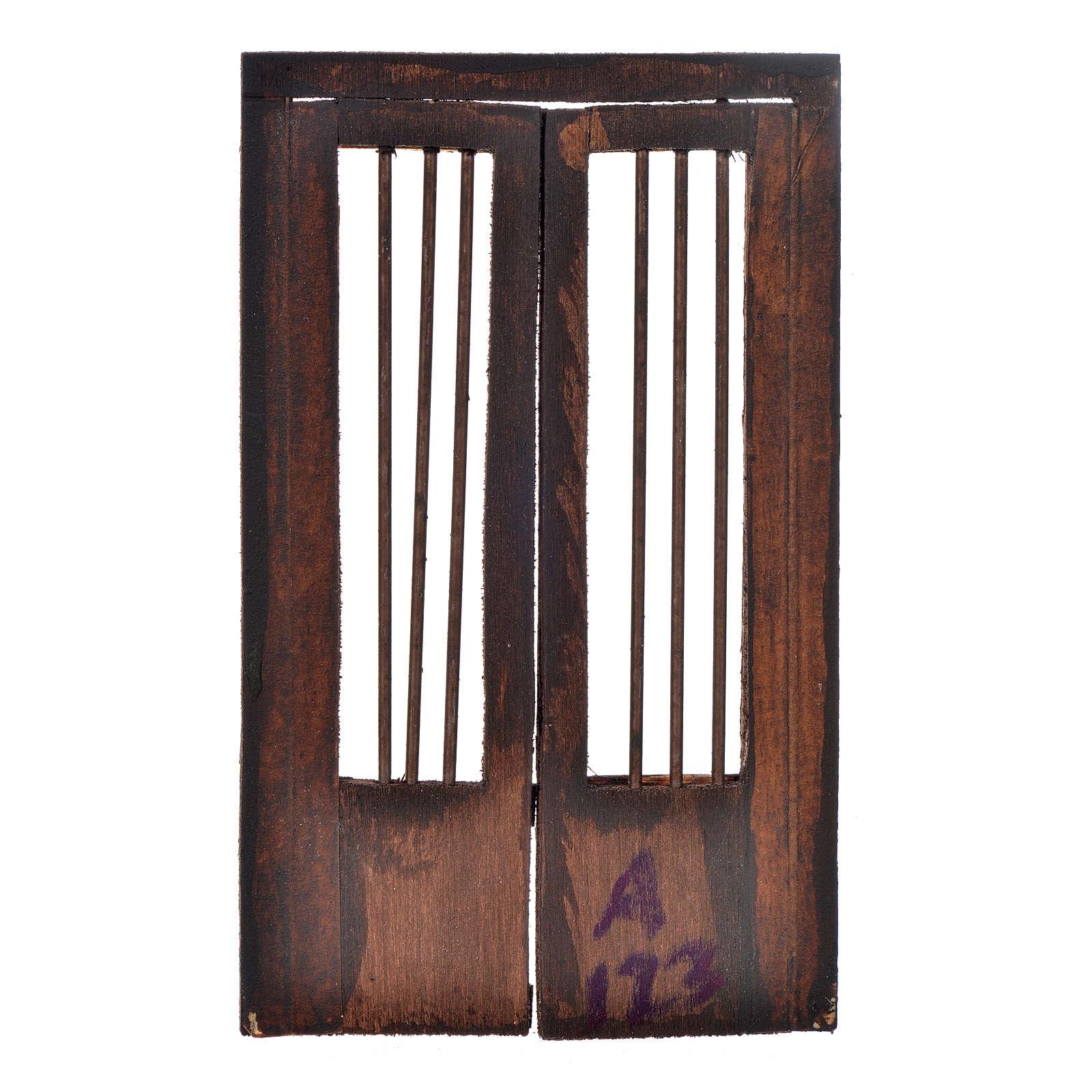 Cancello 11,5x8 cm presepe napoletano 4