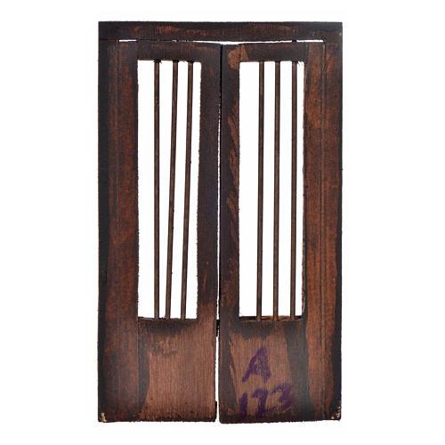 Cancello 11,5x8 cm presepe napoletano 2
