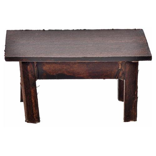 Tavolo 3,5x7,5x4 cm presepe napoletano 2