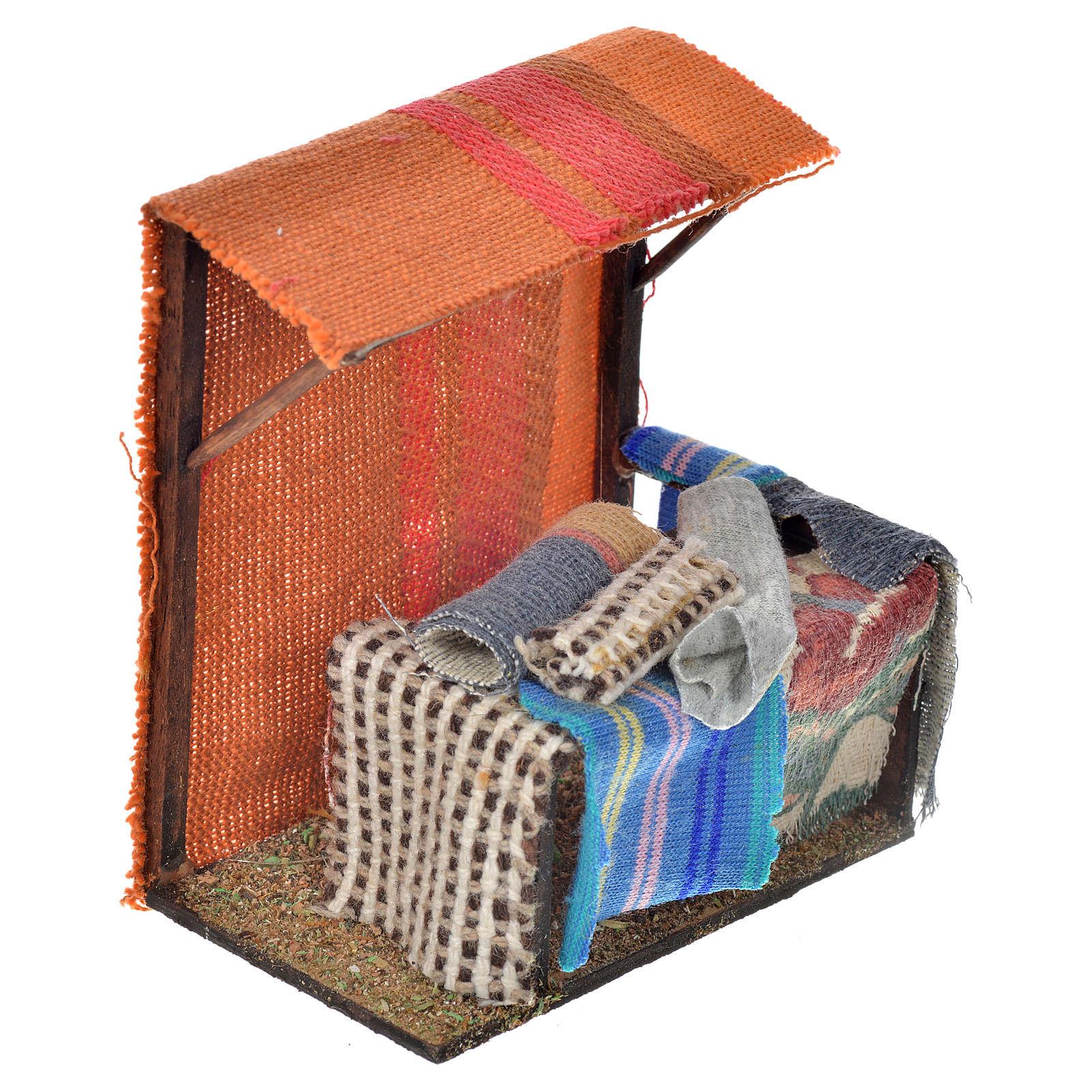 Banca de alfombras 10x10x7 pesebre napolitano 4