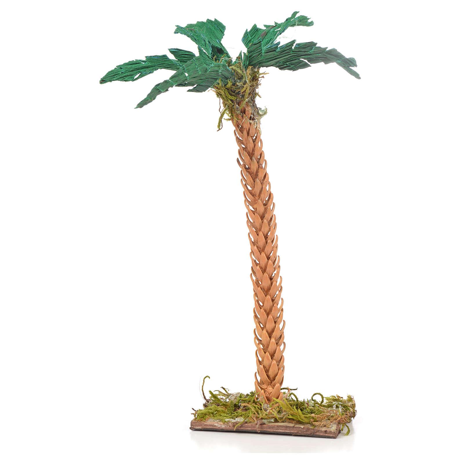 Neapolitan Nativity scene accessory, palm tree 15 cm 4