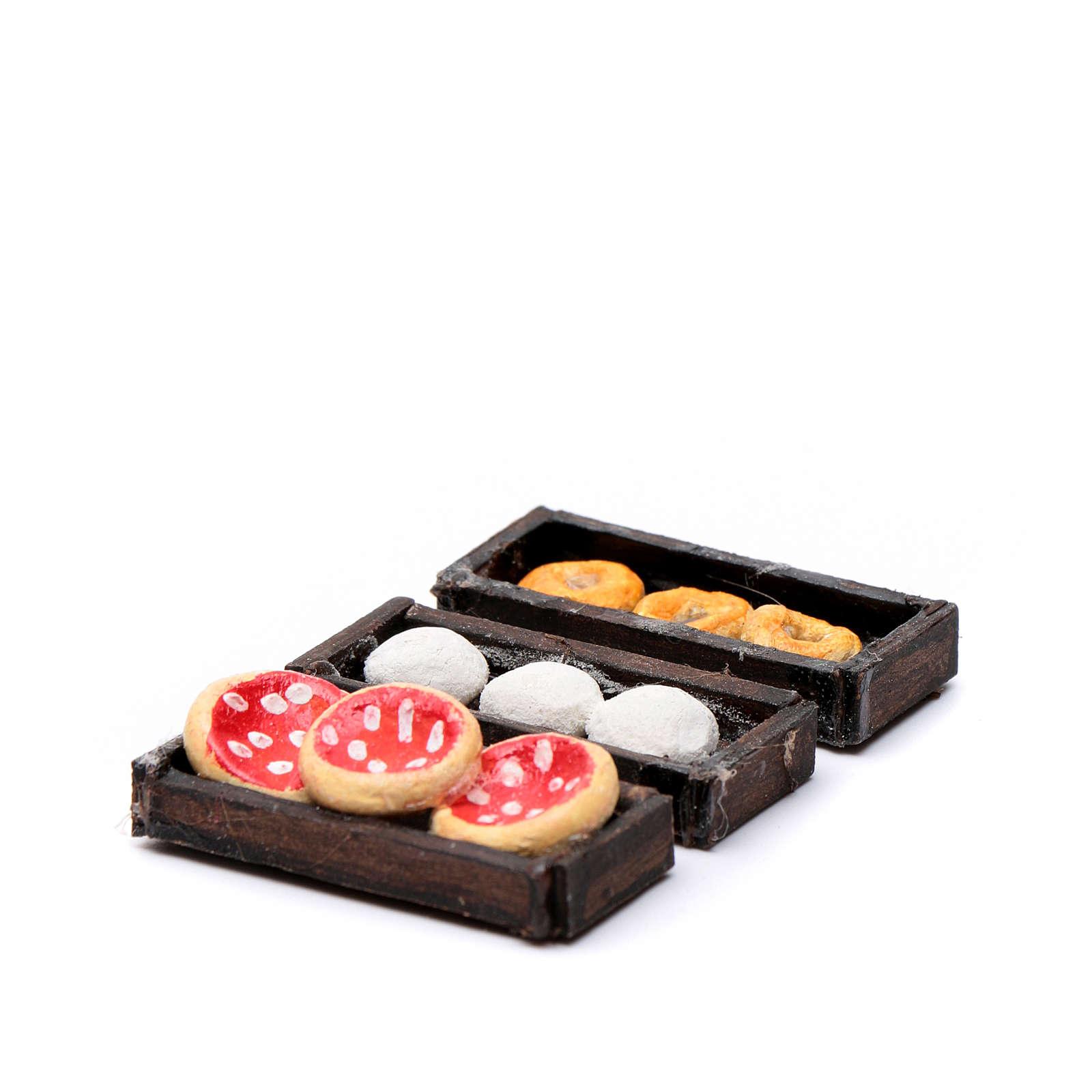 Vassoi pizza 3pz presepe napoletano 4