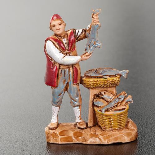 Santons crèche Noel Moranduzzo 3 cm 12 bergers 6