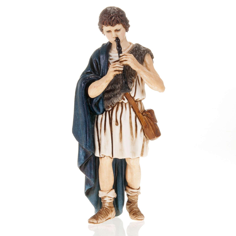 Pifferaio presepe Moranduzzo 13 cm 4