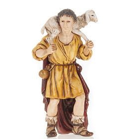 Berger mouton sur ses épaules crèche Moranduzzo 13cm s1