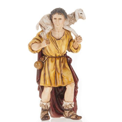 Berger mouton sur ses épaules crèche Moranduzzo 13cm 1