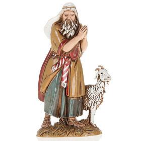 Pastor viejo con cabra 10 cm. Moranduzzo s1