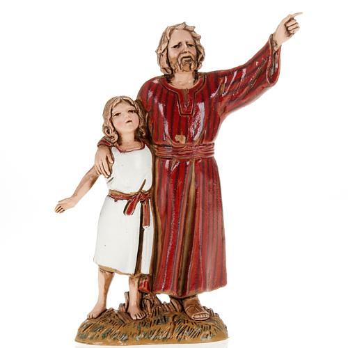 Uomo indica al bambino 10 cm Moranduzzo 1