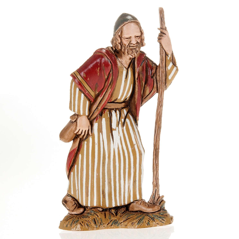 Viandante con bastone 10 cm Moranduzzo 3