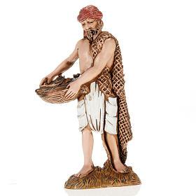 Figurines for Moranduzzo nativities, fisherman with basket and n s1
