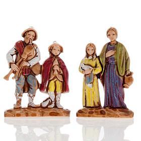 Pastores dobles 6 piezas 3 cm. Moranduzzo s4