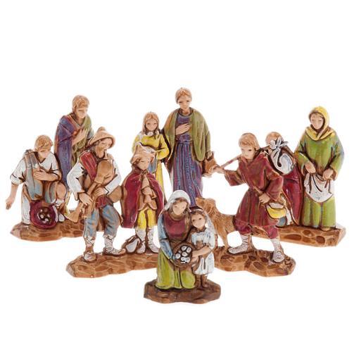 Pastores dobles 6 piezas 3 cm. Moranduzzo 1