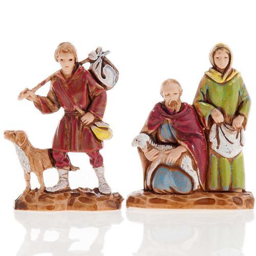 Pastores dobles 6 piezas 3 cm. Moranduzzo 2