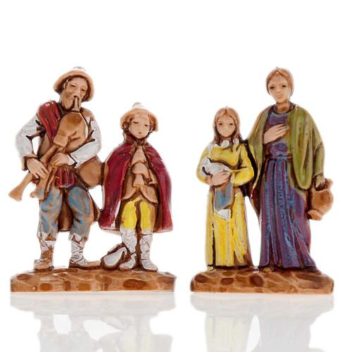 Pastores dobles 6 piezas 3 cm. Moranduzzo 4
