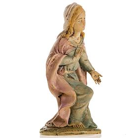Vierge Marie 18 cm résine crèche Noel s2