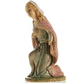 Vierge Marie 18 cm résine crèche Noel s3