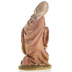 Vierge Marie 18 cm résine crèche Noel s4