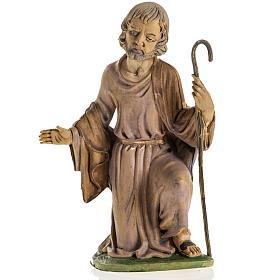 San Giuseppe 18 cm resina statua presepe s1