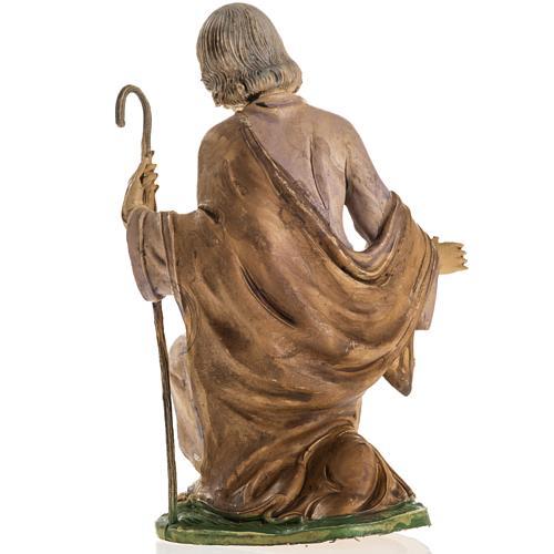 San Giuseppe 18 cm resina statua presepe 4