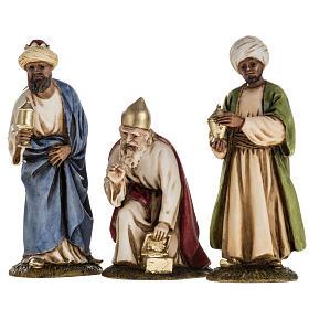 Santons crèche: Rois Mages, santons crèche Landi 11 cm