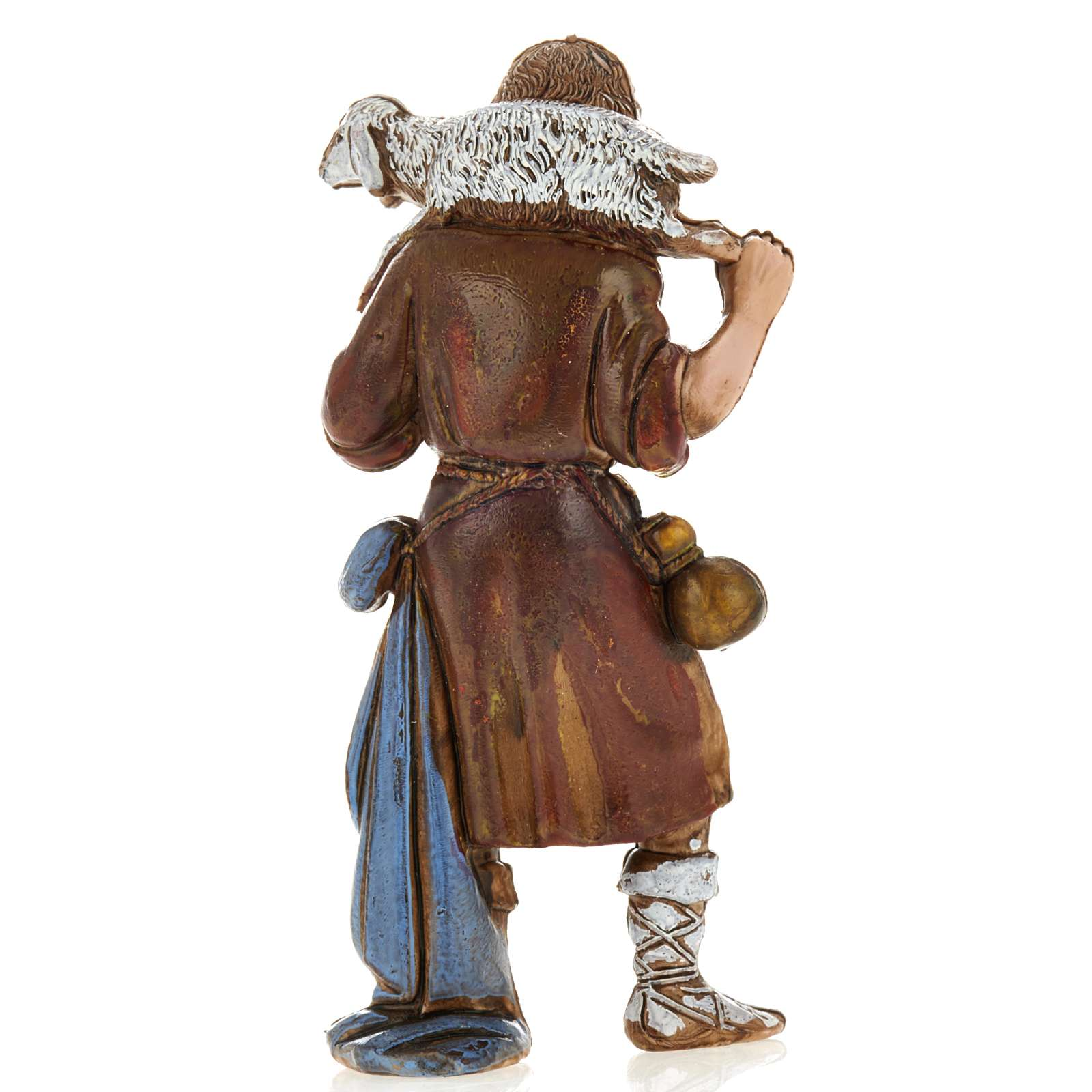 Ragazzo pastore con pecora 8 cm Moranduzzo 4