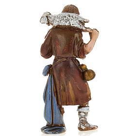 Ragazzo pastore con pecora 8 cm Moranduzzo s2