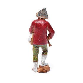 Joueur de musette, santon crèche Moranduzzo 8 cm s2