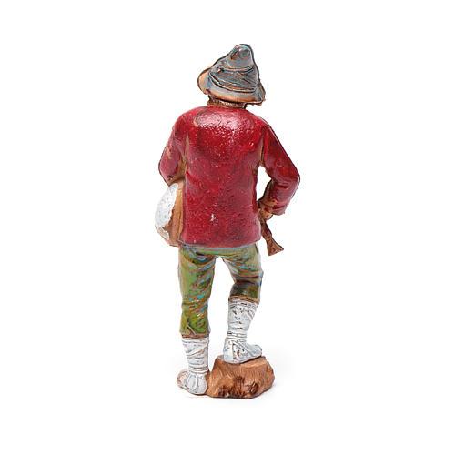 Joueur de musette, santon crèche Moranduzzo 8 cm 2