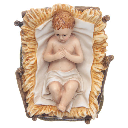 Gesù Bambino 11 cm presepe Landi 1