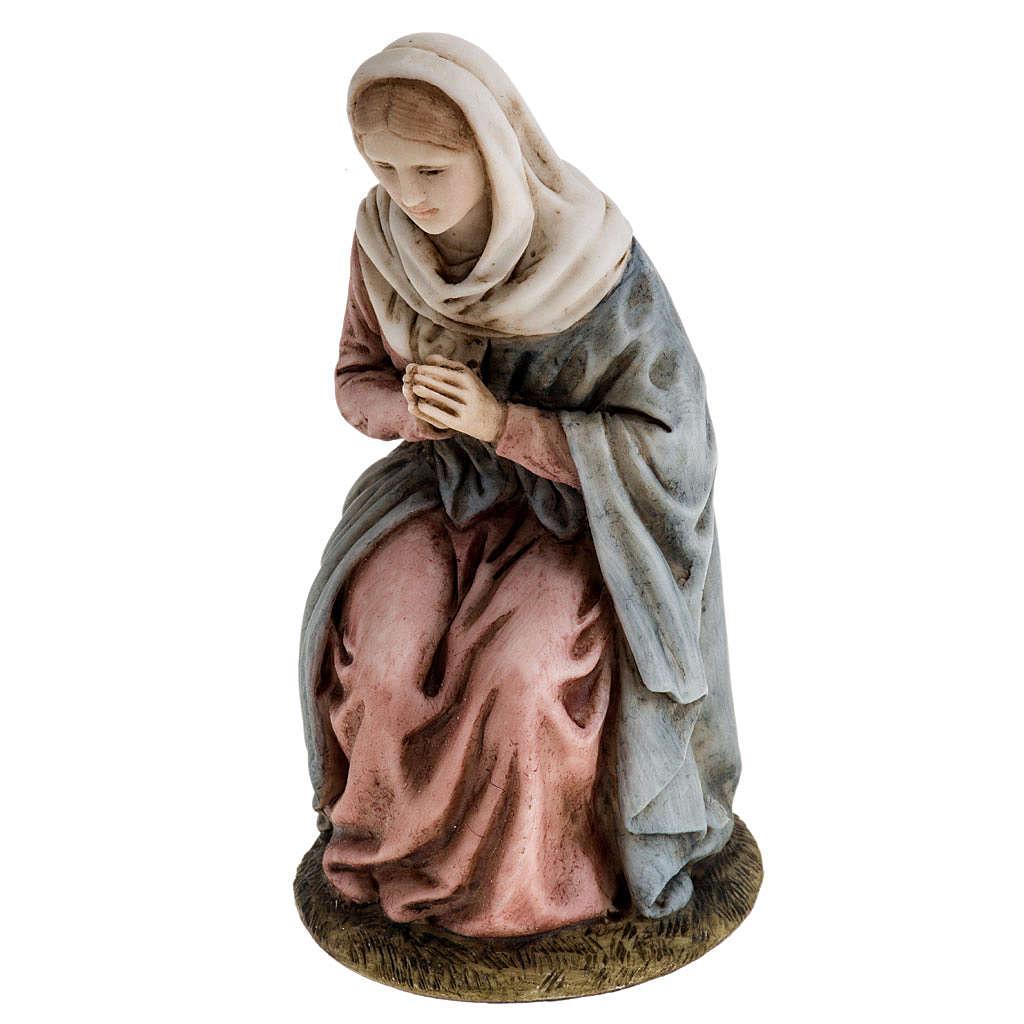 Vierge Marie 11 cm crèche Landi 3