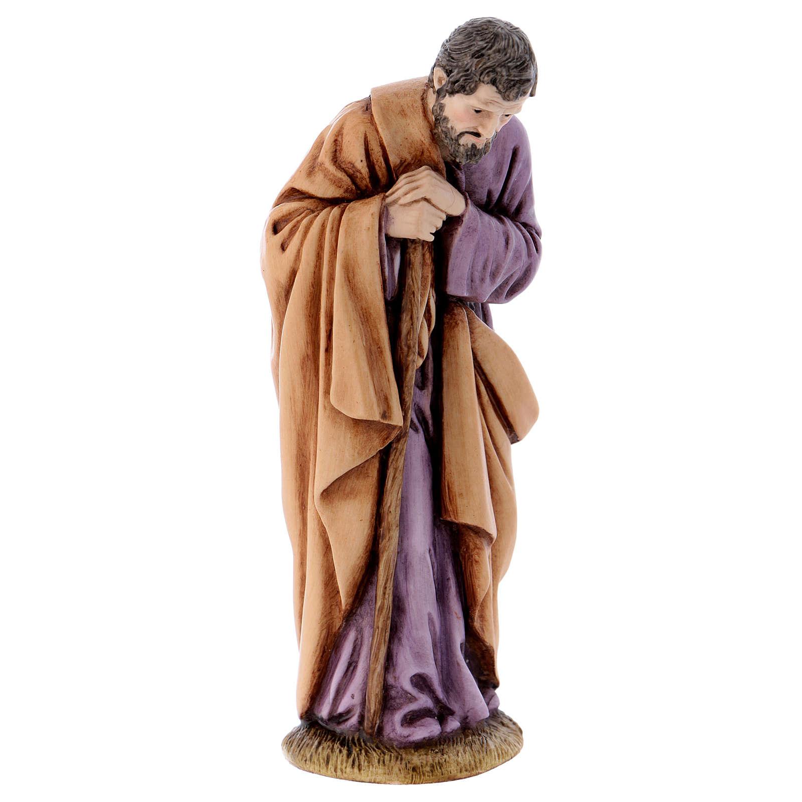 San Giuseppe 11 cm presepe Landi 3