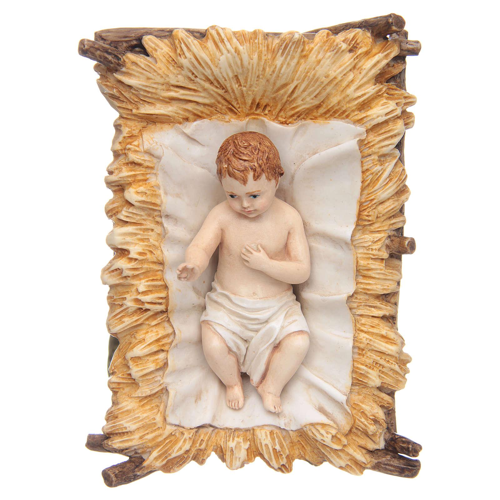 Gesù Bambino 18 cm presepe Landi 3