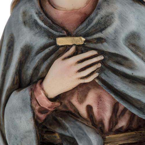 Vierge Marie 18 cm crèche Landi 5