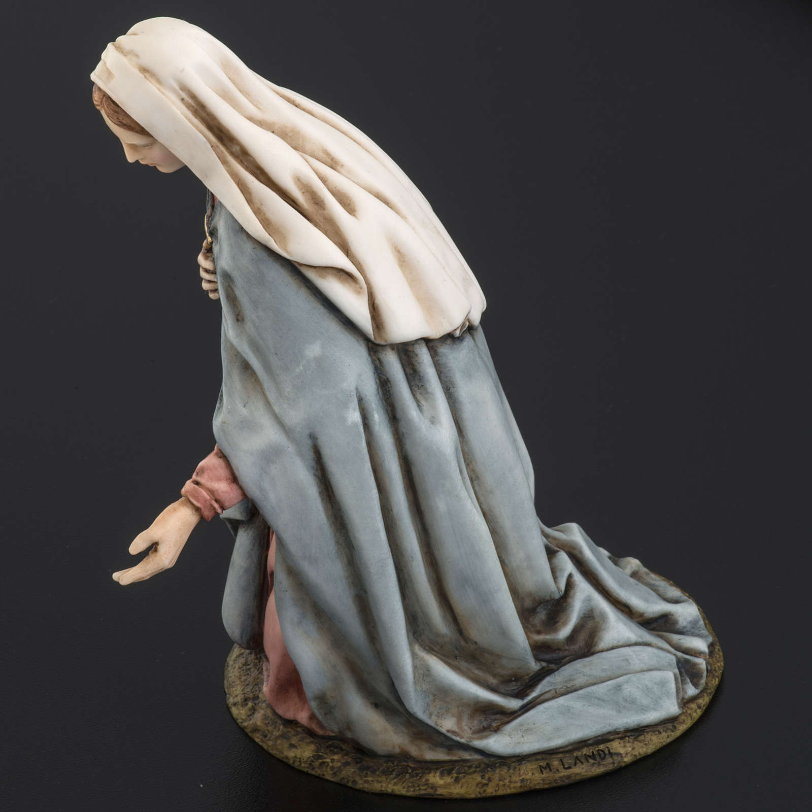 Maria 18 cm presepe Landi 3