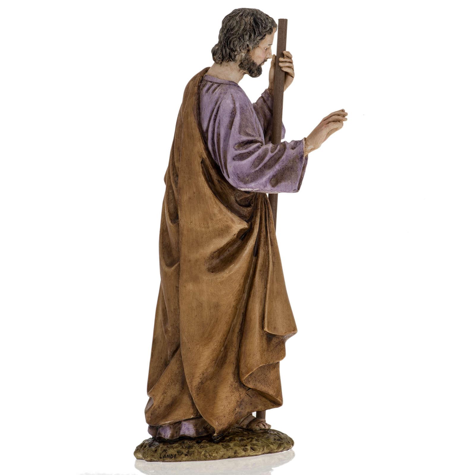 San Giuseppe 18 cm presepe Landi 3