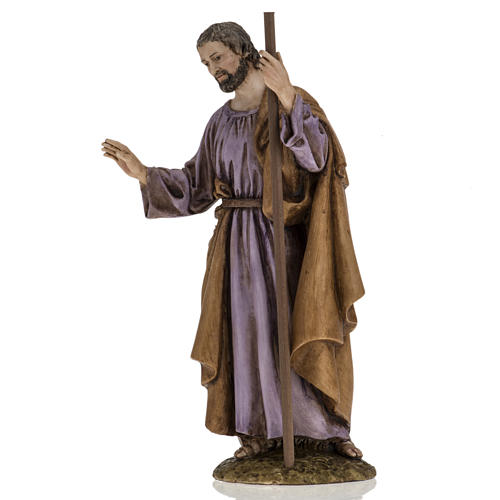 San Giuseppe 18 cm presepe Landi 2